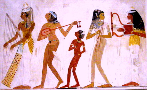 Музыка в Древнем Египте.
