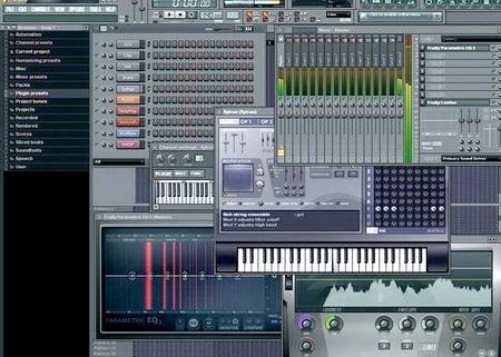 Программа FL Studio.