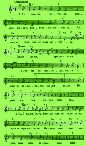 Антошка ноты