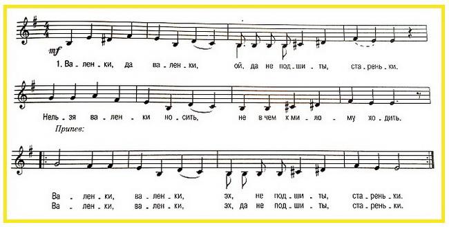 простые ноты для синтезатора для начинающих