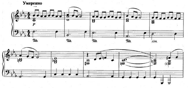 Шербурские зонтики ноты