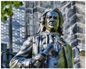 Иоганн Себастьян Бах, памятник в Лейпциге